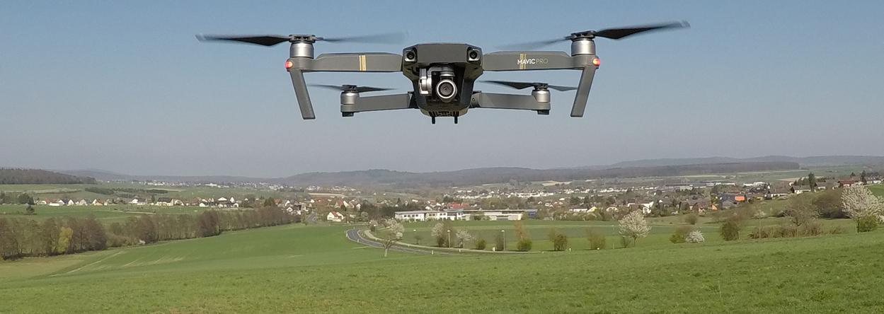 Bild von einer Drohne