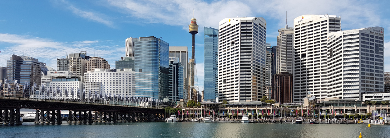 Bild vom Darling Harbour in Sydney