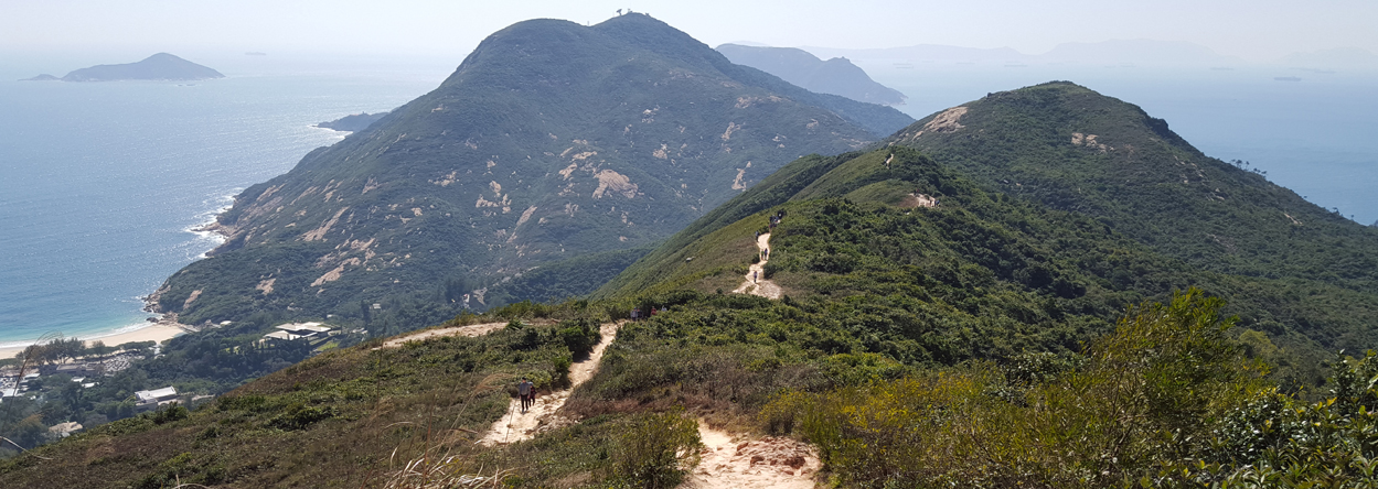 Dragon's Back Wanderweg in Hong Kong