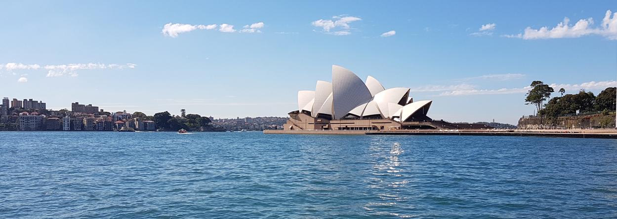 Bild vom Opernhaus in Sydney