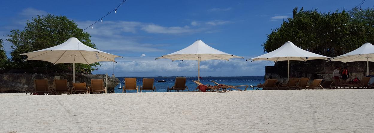 Bild vom Strand des Shangri-La Hotels auf Cebu