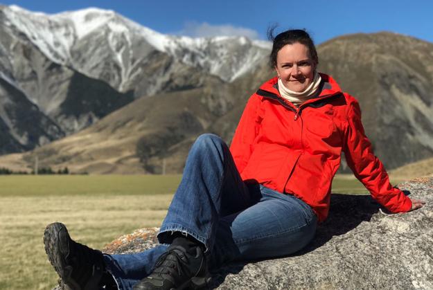 Foto von mir in Neuseeland