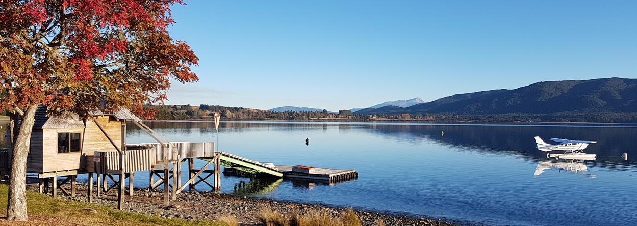 Bild vom Lake Te Anau