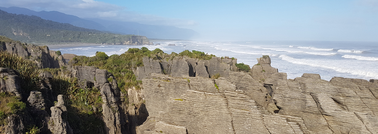Bild von den Pancake Rocks