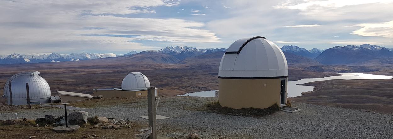 Bild vom Observatorium bei Tekapo