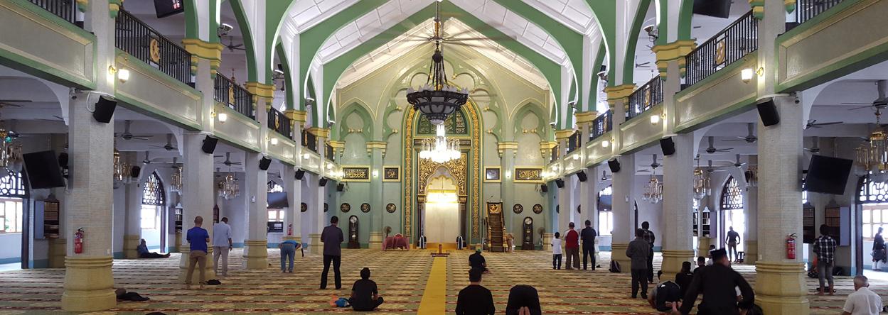Bild der Sultan-Moschee