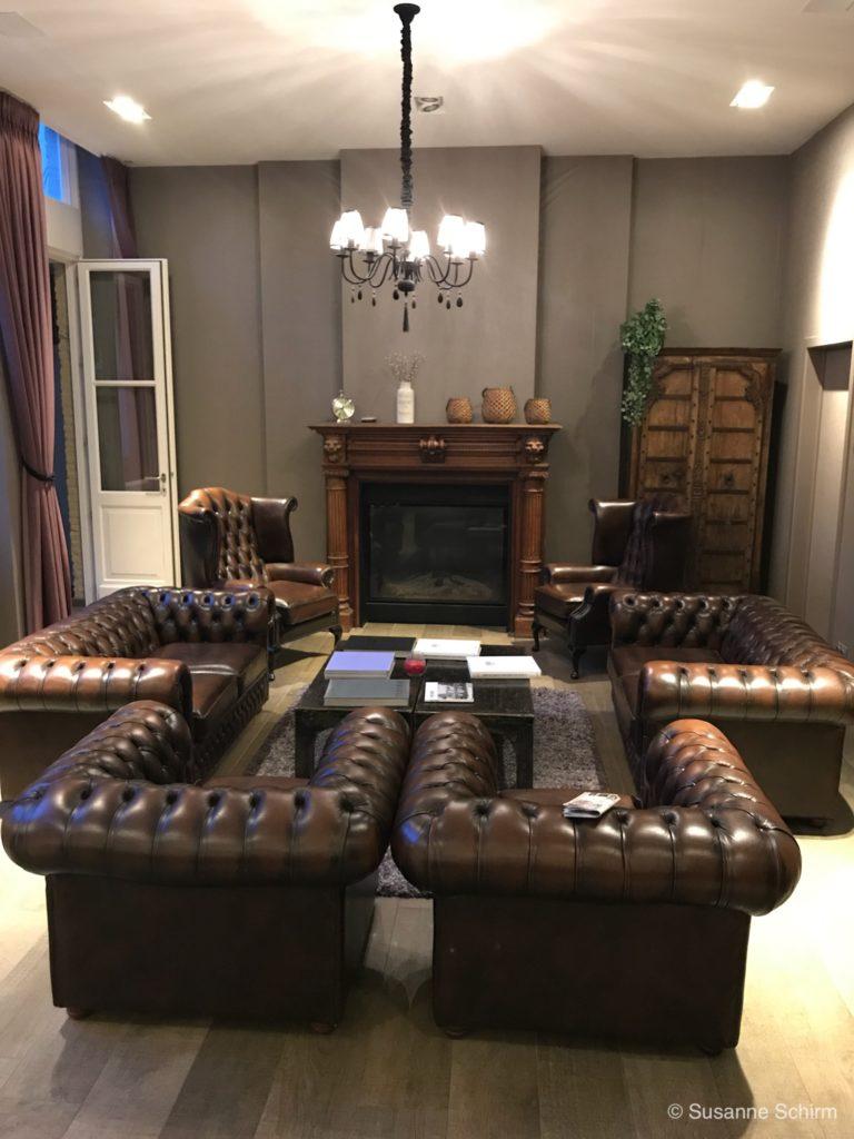 Bild von der Hotellobby