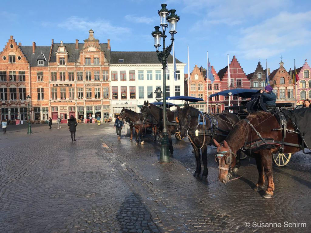 Bild vom zentralen Marktplatz
