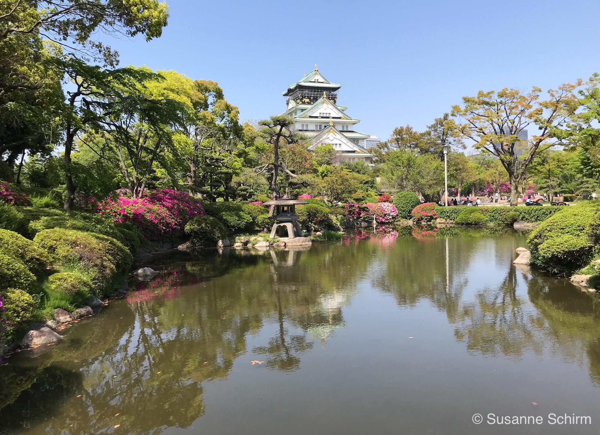 Bild vom Osaka Castle