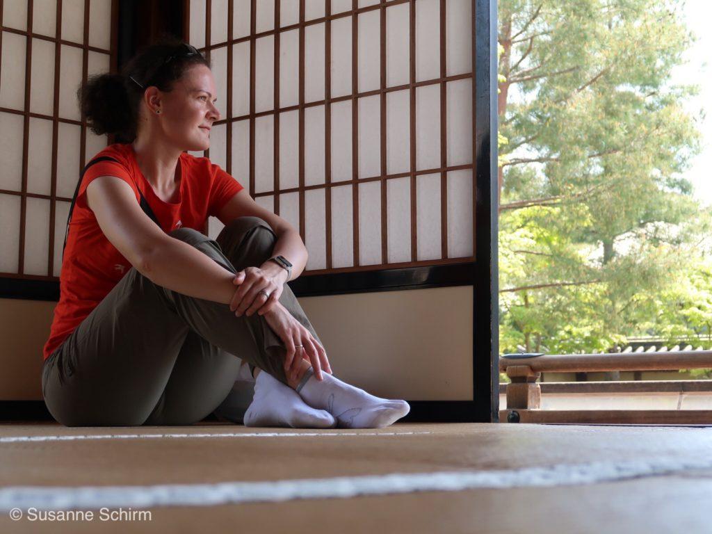 Ruheraum am Zengarten des Kodai-ji