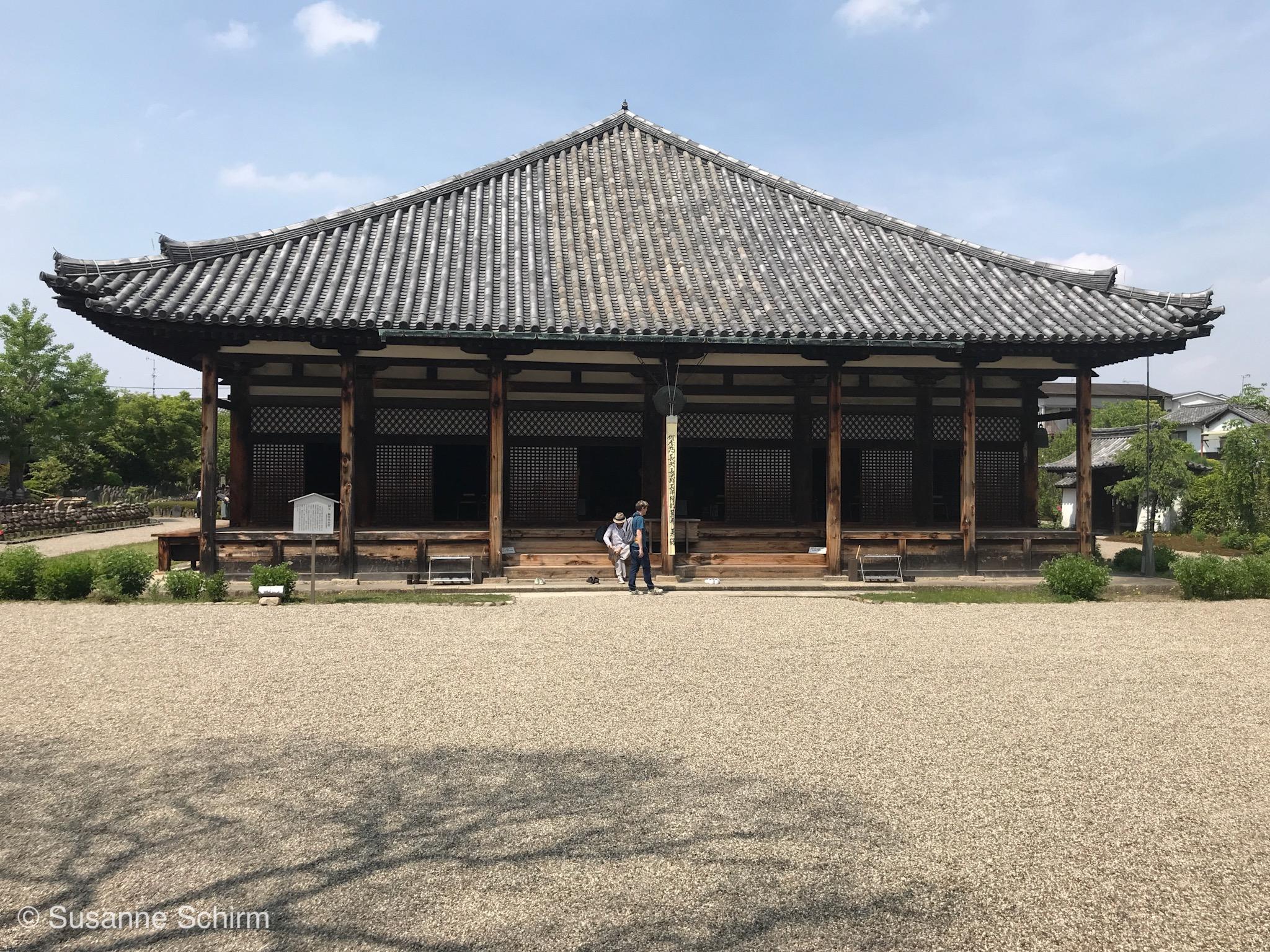 Bild vom Gango-ji Tempel