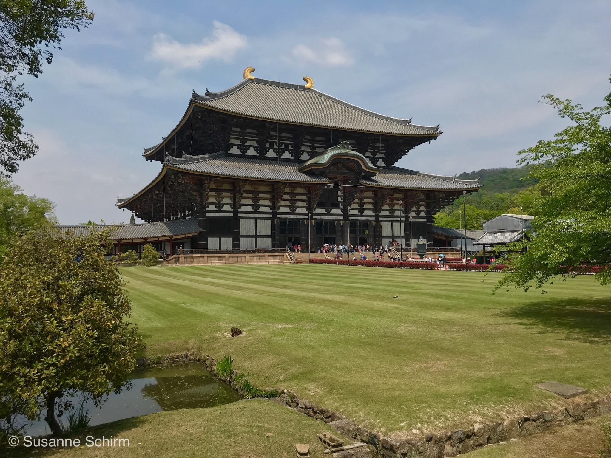Bild vom Todai-ji Tempel