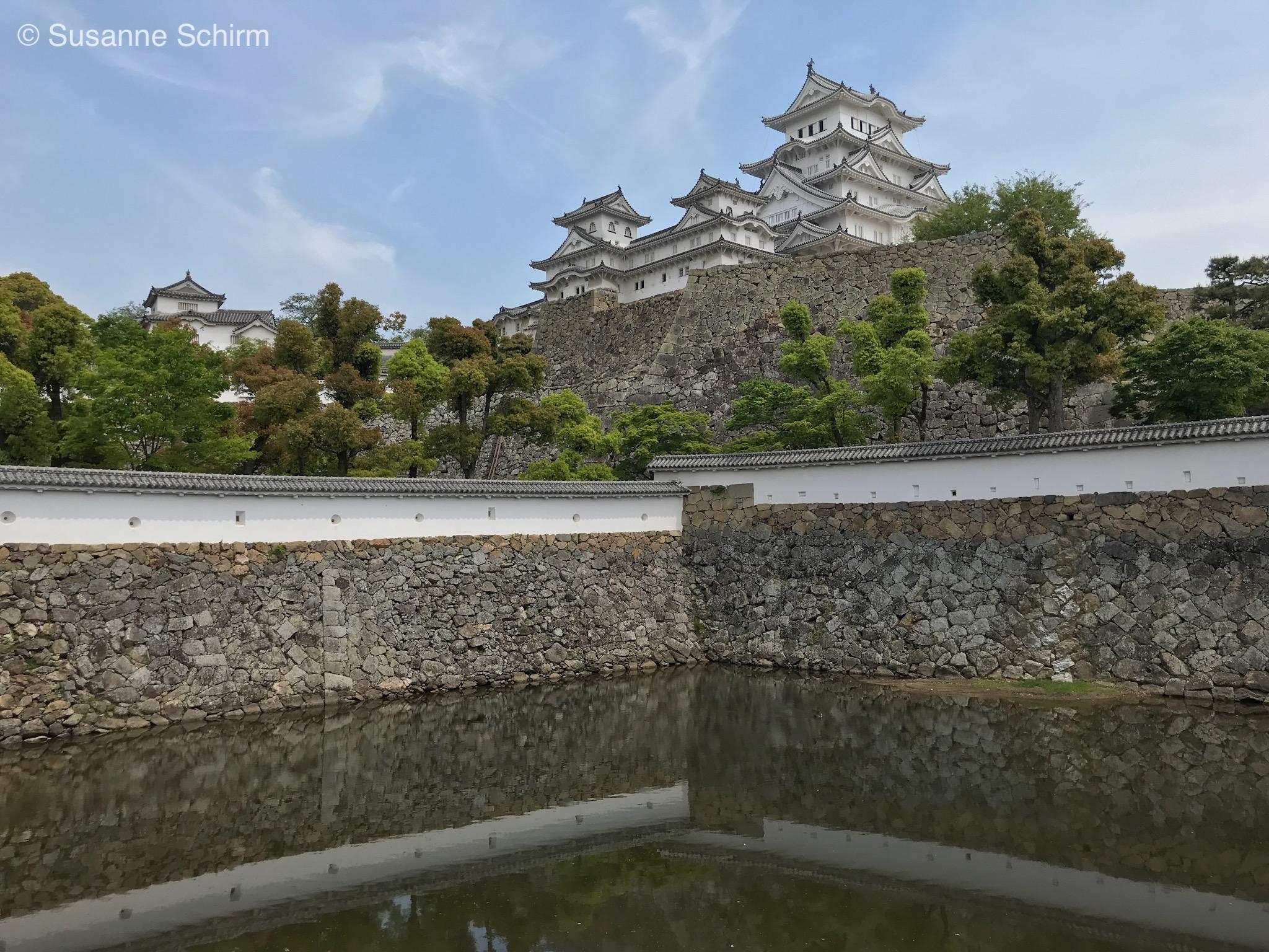 Bild von der Burg Himeji