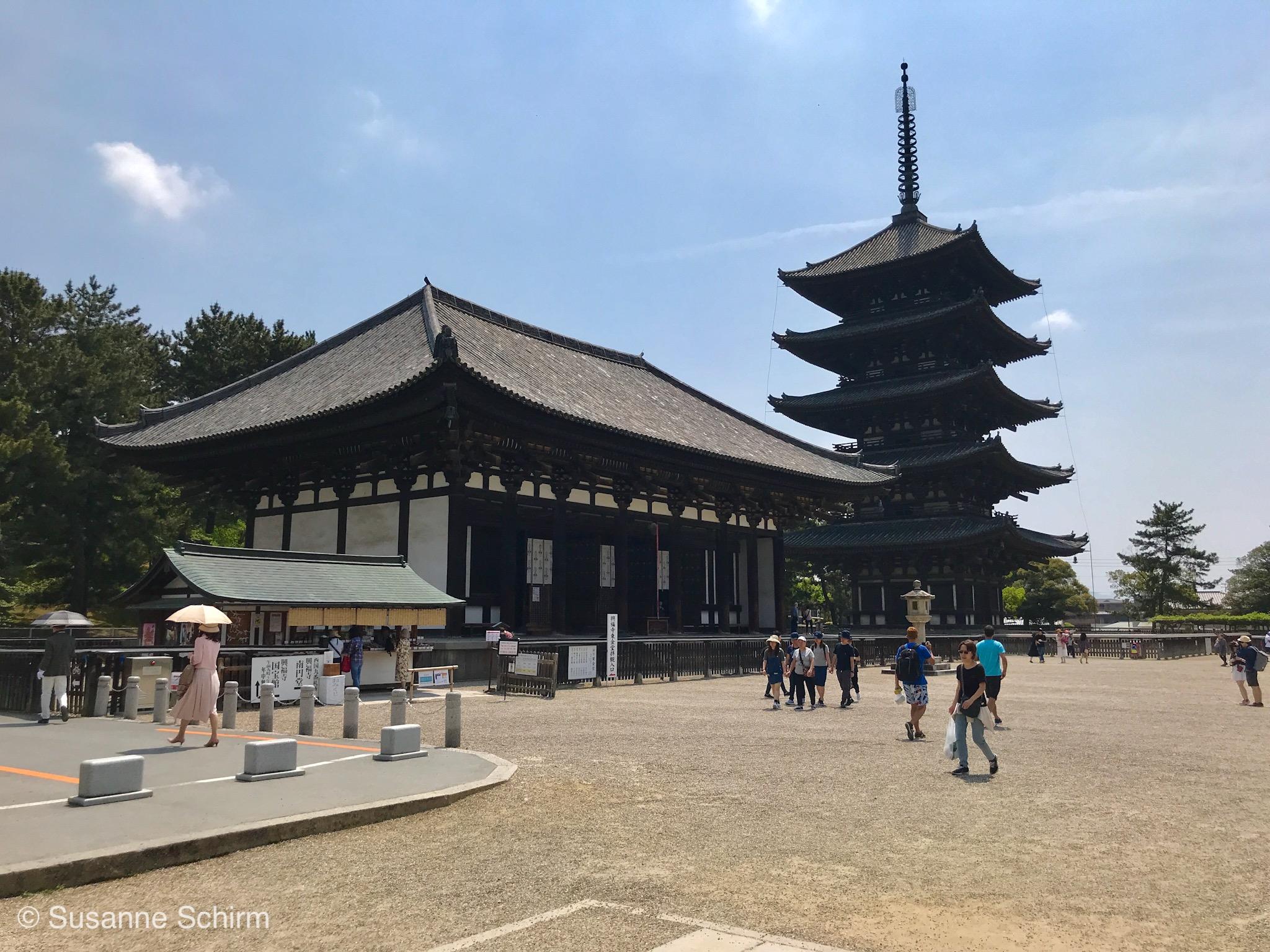 Am Kofuku-ji Tempel