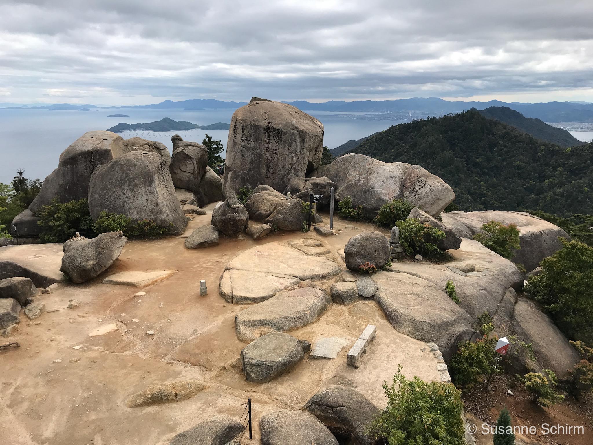 Bild vom Gipfel des Berg Misen