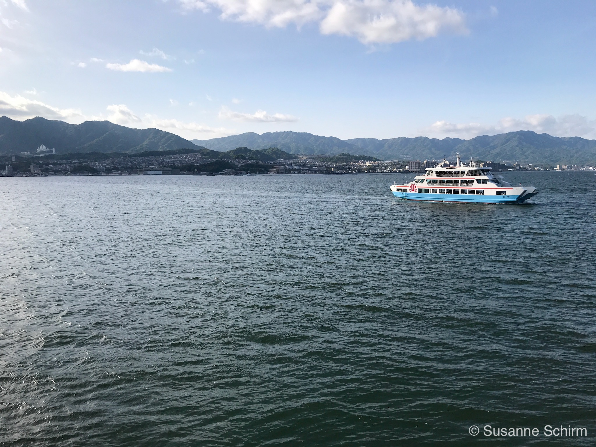 Bild von der Miyajima Fähre