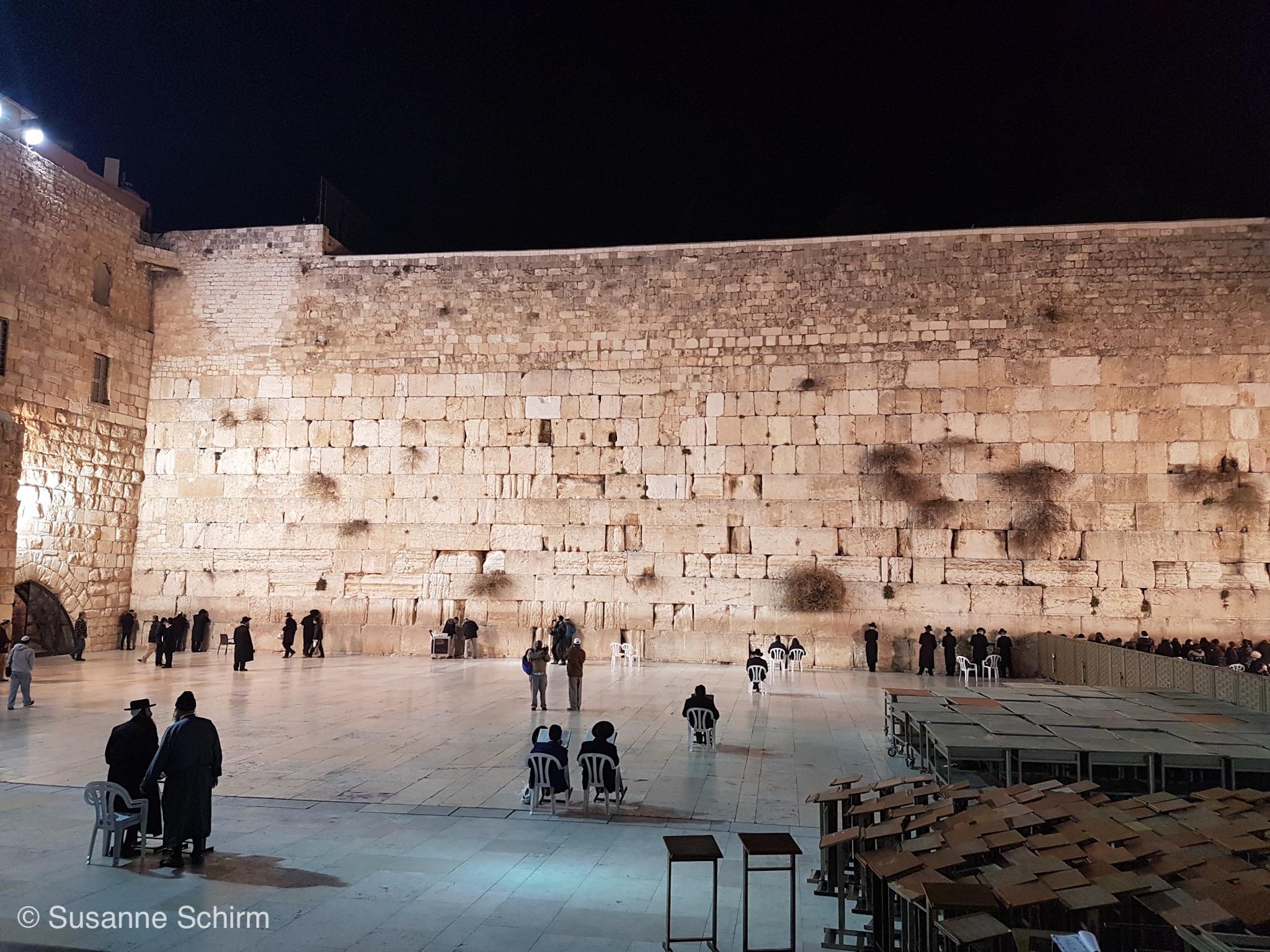 Bild von der Klagemauer in Jerusalem