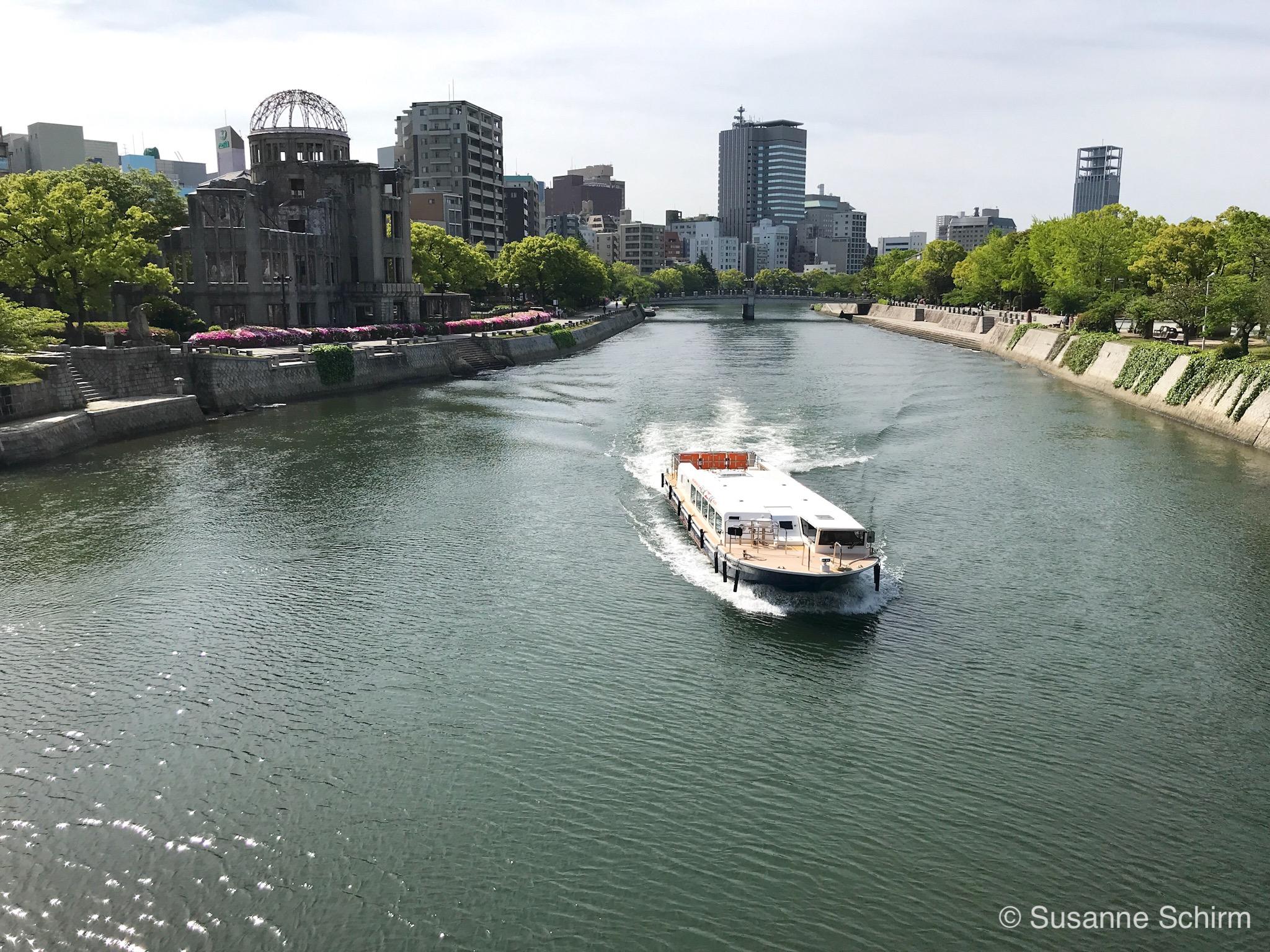 Bild von Friedenspark und Friedensdenkmal in Hiroshima