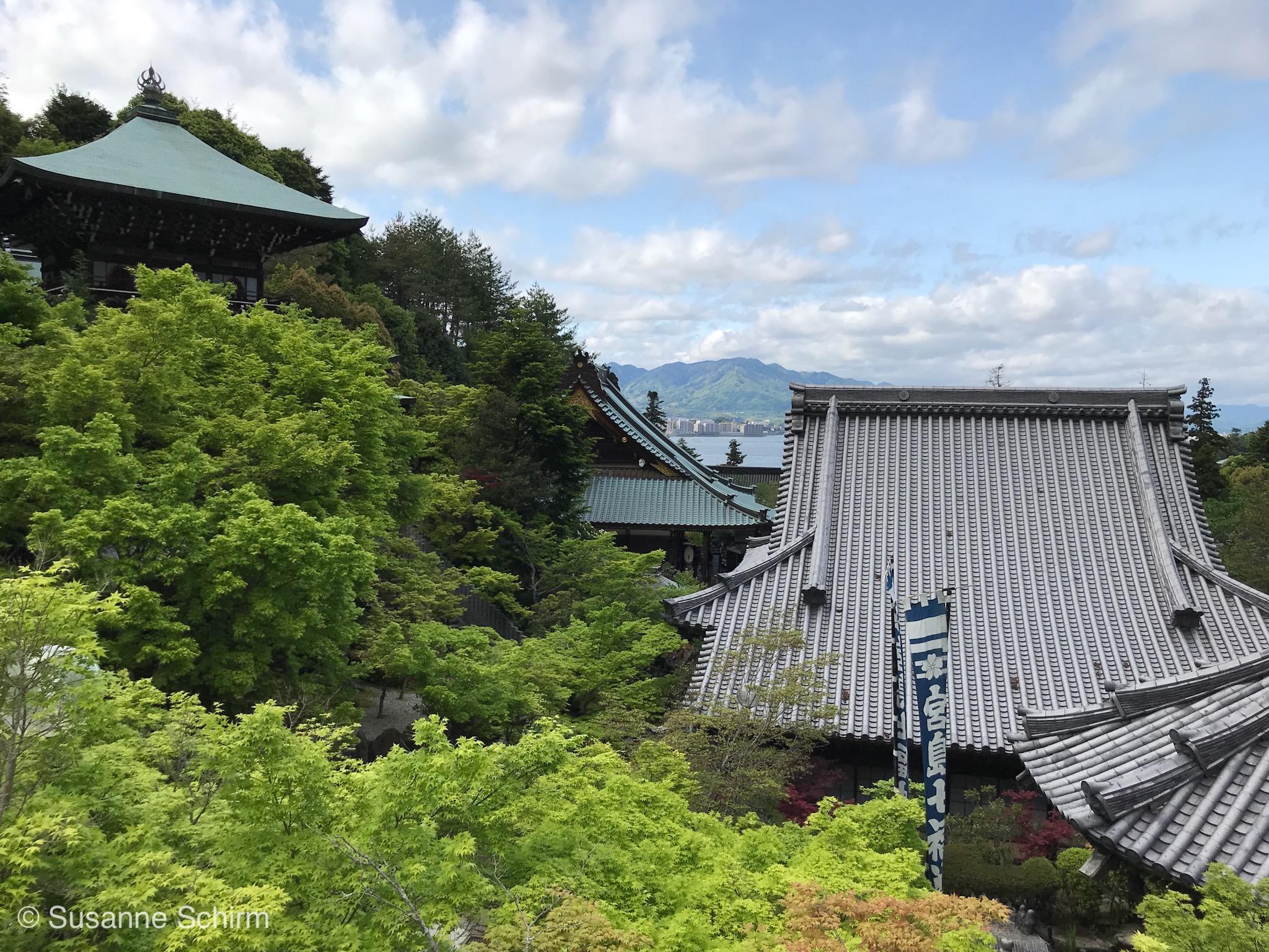Daisho-in Tempelanlage