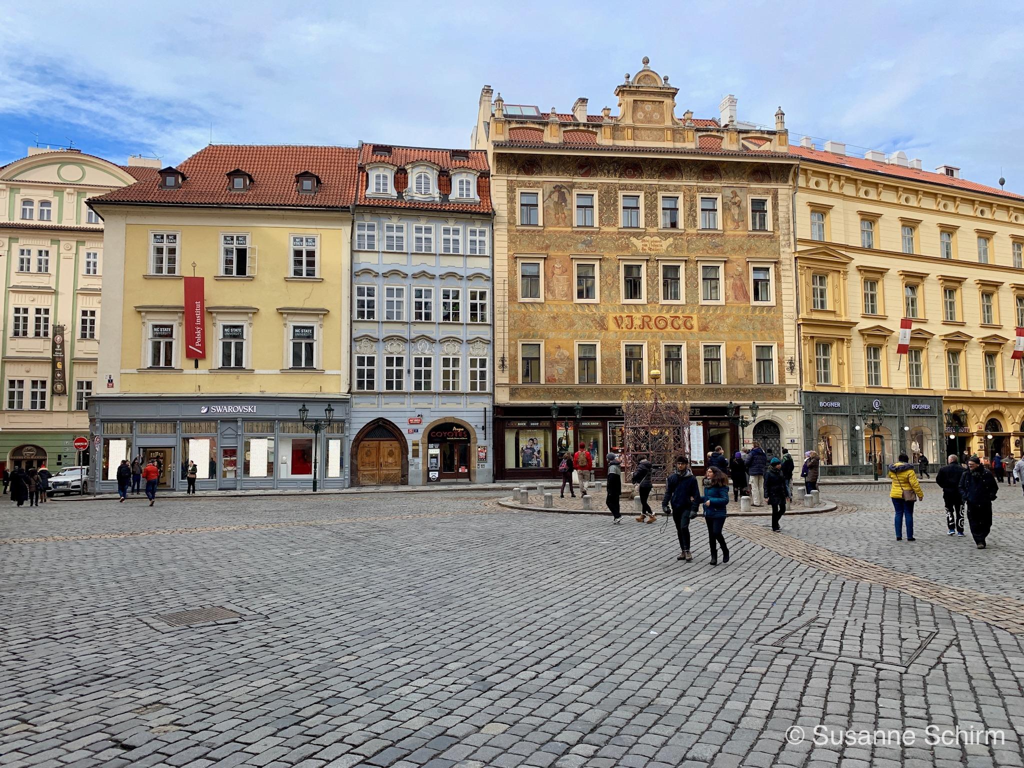 Historische Gebäude in der Nähe des Altstädter Ringes