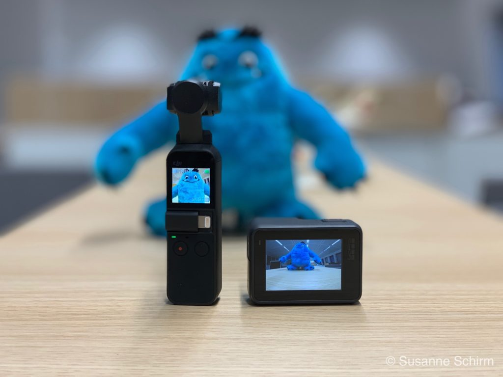 DJI Osmo Pocket und GoPro Hero 7 Black