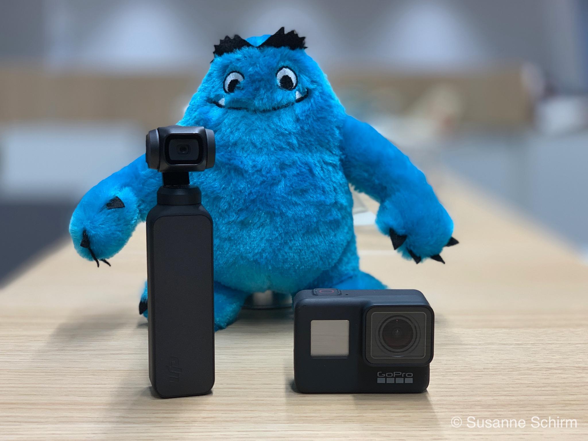 Actionkameras im Vergleich: DJI Osmo Pocket und GoPro Hero 7 Black