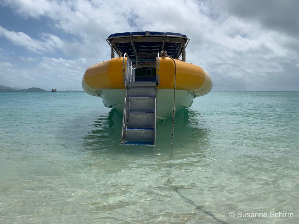 Schlauchboot von Ocean Rafting