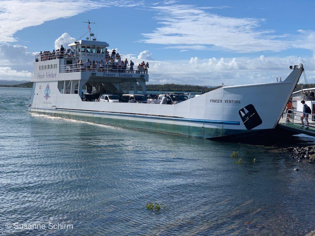 Mit der Fraser Venture Fähre nach Fraser Island