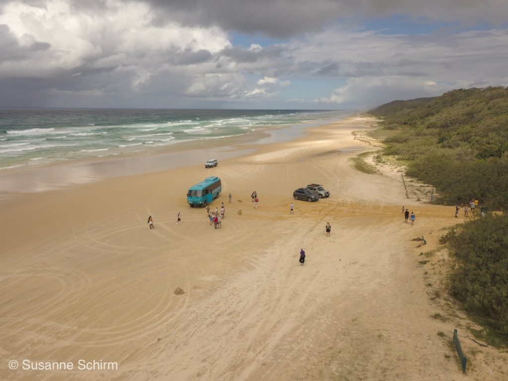 75 Mile Beach Highway auf Fraser Island