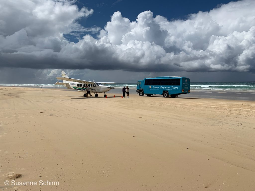 Fortbewegungsmittel auf Fraser Island