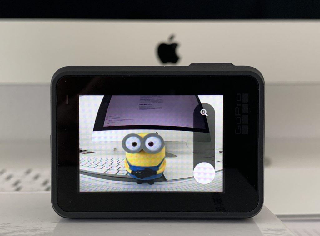 Zoom-Funktion der GoPro Hero 7 Black